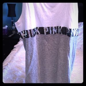 Victoria Secret Pink Tank too with sequins